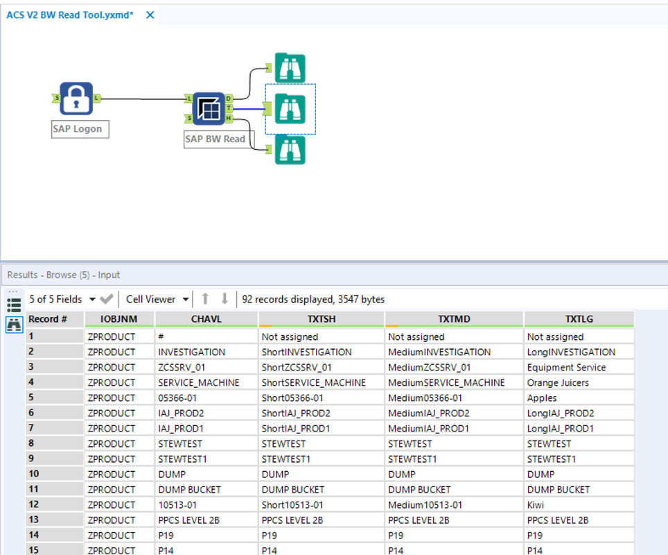 DVW Alteryx Connector for SAP - DVW ANALYTICS